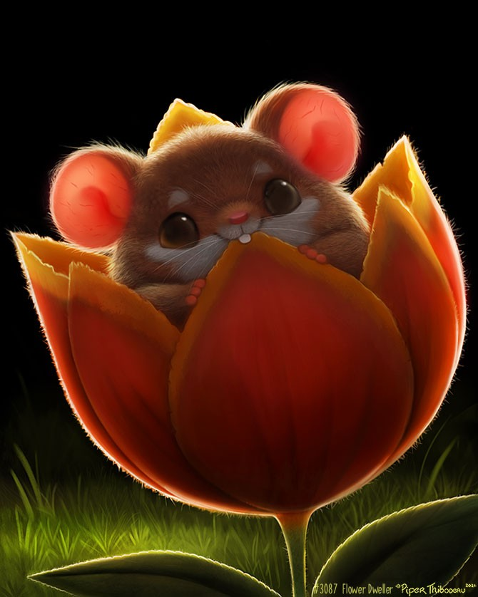 Wonderful little mouse