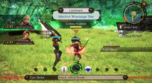Xenoblade Chronicles HD mod battle capture