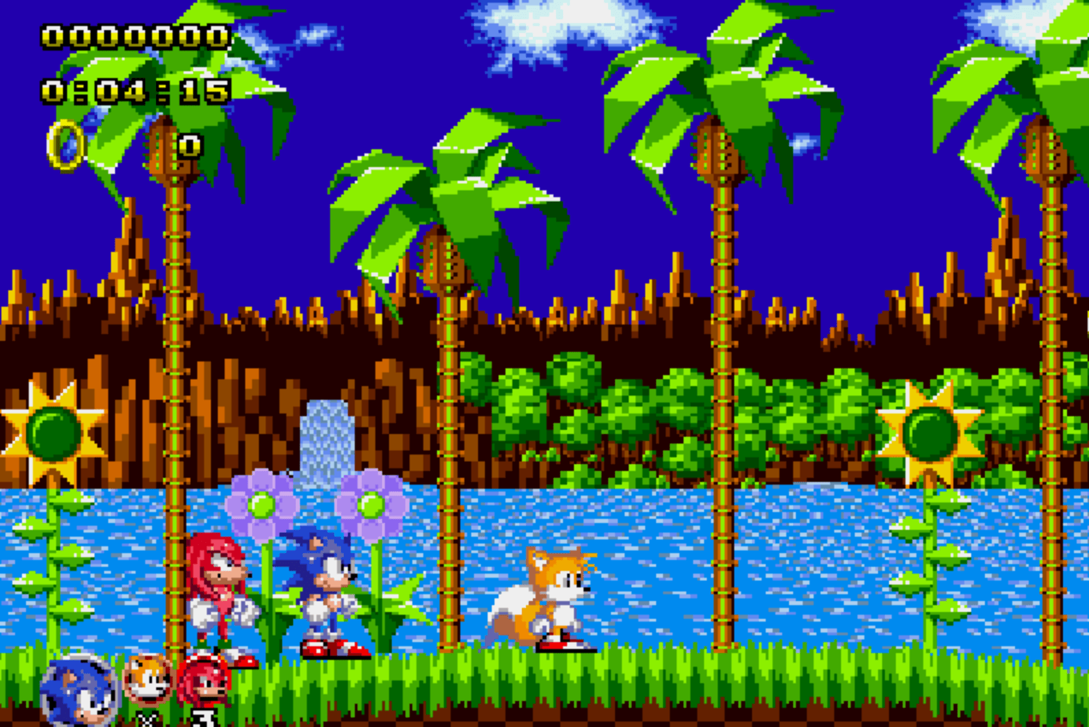 Sonic Classic Heores Green Hill Zone