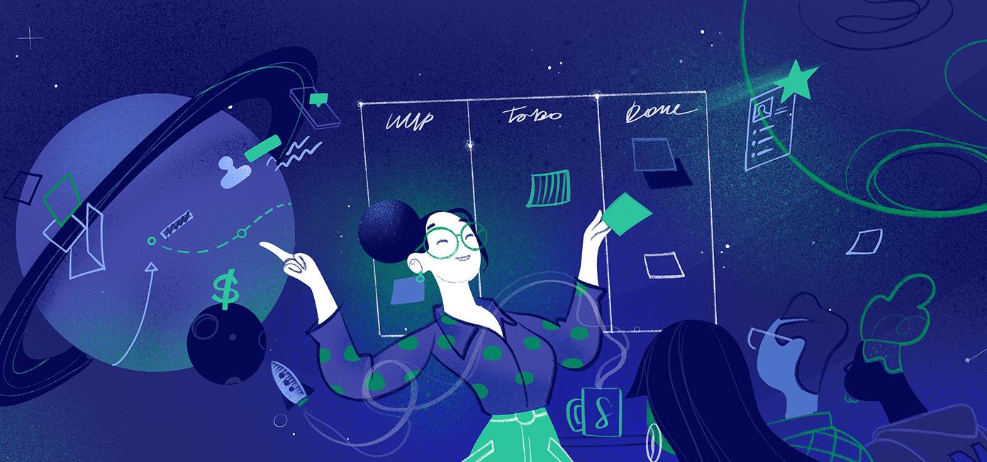 Design Leadership School has some nice illustration