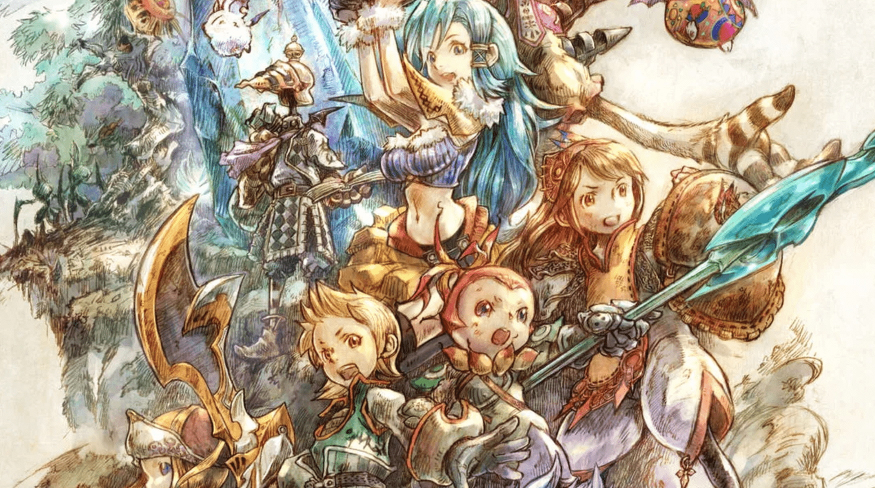 Always loved the classic Final Fantasy art style